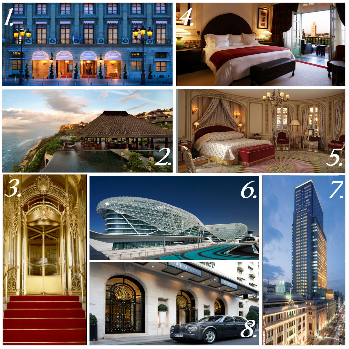 Los 15 mejores hoteles del mundo - Hoteles ritz en el mundo ...