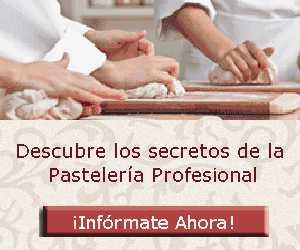 oferta de cursos de pastelería