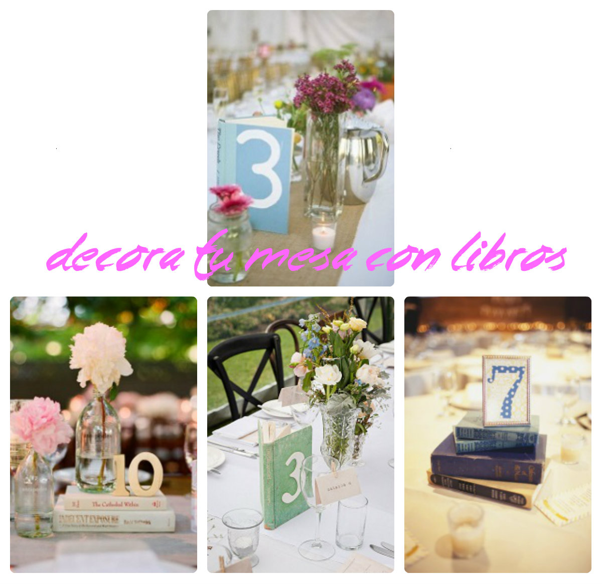 Decoracion en bombas para primera comunion de nio for Decoracion con libros