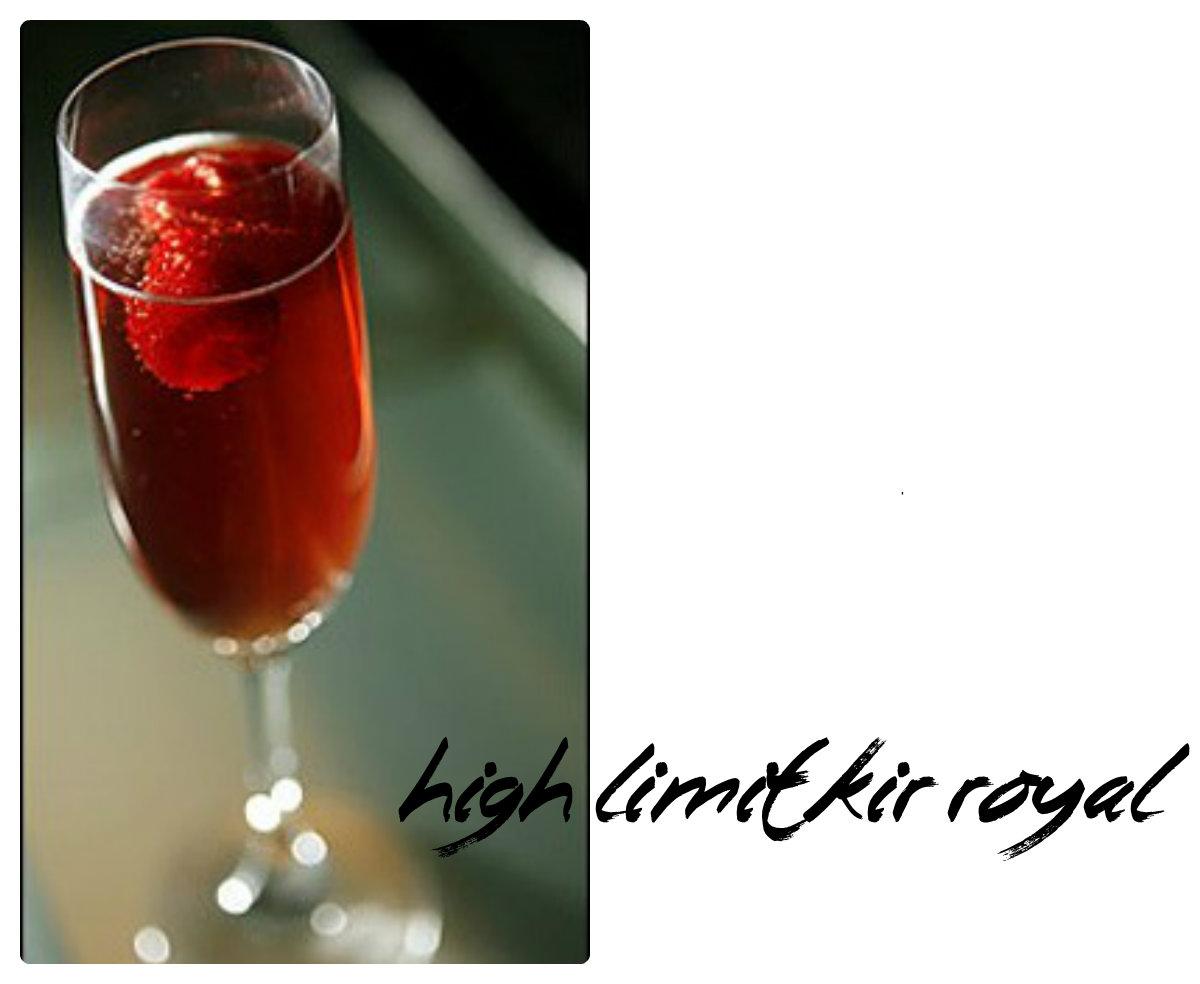 High Limit Kir Royal