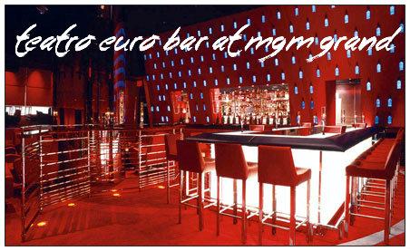 Teatro Euro Bar at MGM Grand