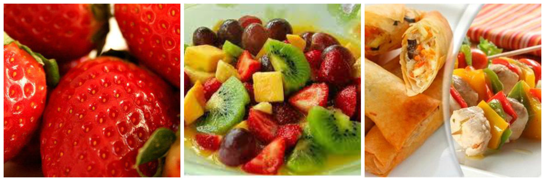 composición frutas
