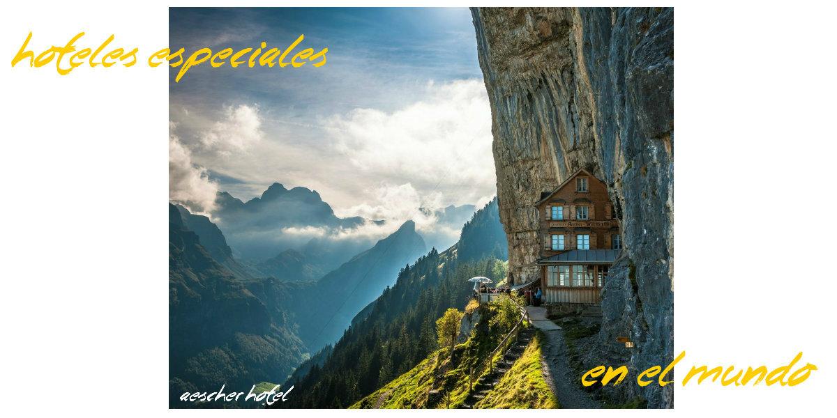 Hoteles especiales en el mundo