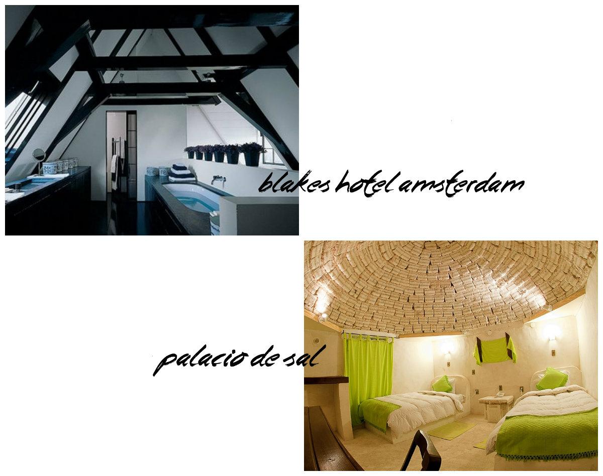 hoteles especiales composición