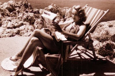Marlene Dietrich en el Hotel du Cap Eden Roc
