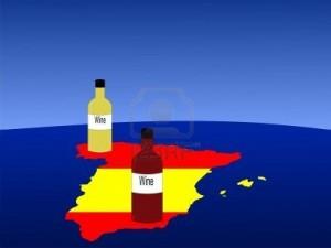 bandera y vino