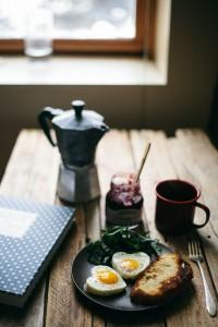Huevos corazon