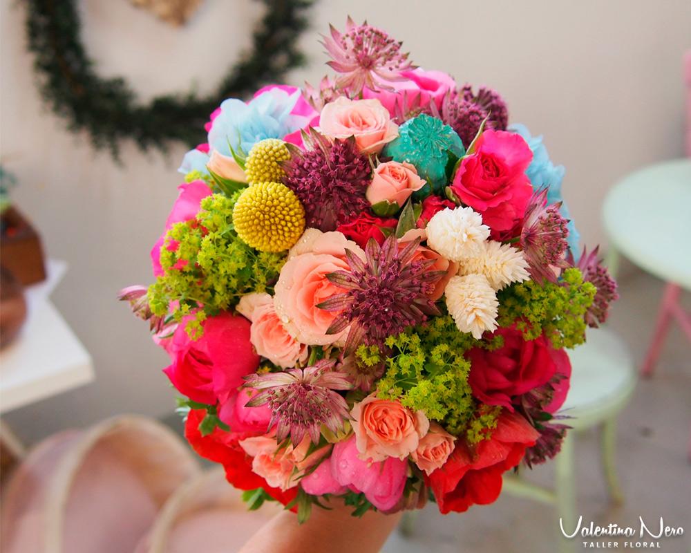 evoluci n del ramo de novia wedding planner esah On ramos de novia de colores