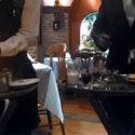 gueridon o servicio de mesa a la rusa