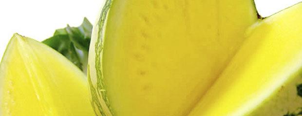 sandía amarilla