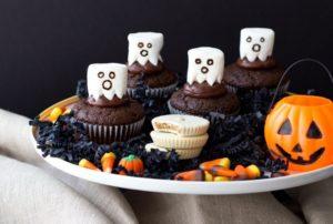 cupcakes de fantaasmas