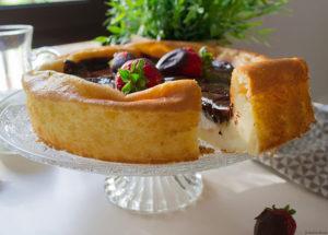 tarta queso sin gluten