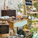 candy bar decoración bodas love story