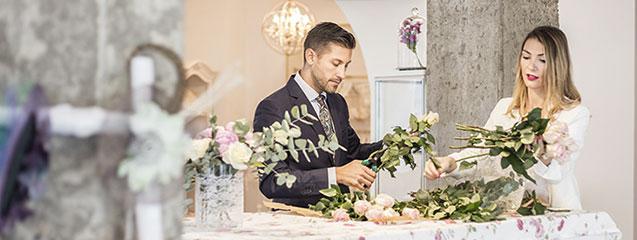 cómo organizar una boda love story