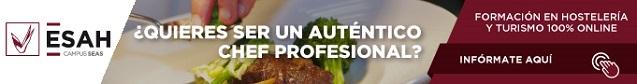 curso chef y jefe de partida en la cocina