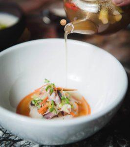 comida asiática element