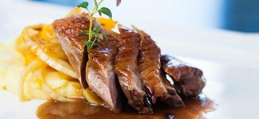 plato cocina carne ternera