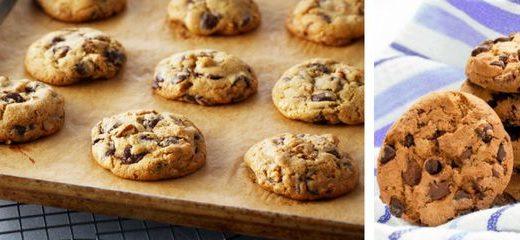receta cómo hacer cookies chocolate americanas