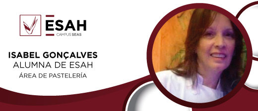 Alumno máster de pastelería online ESAH