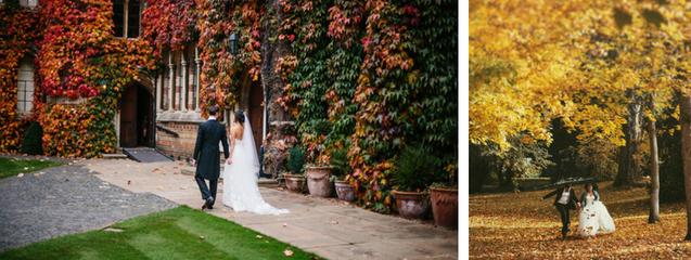 organización bodas otoño