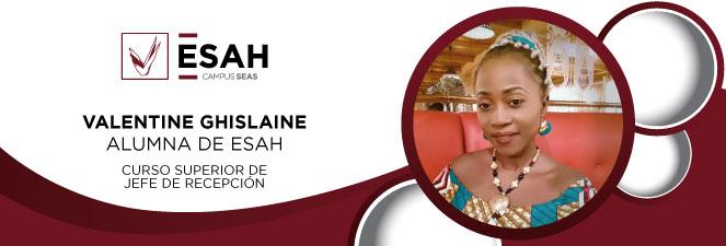 valentine ghislaine alumna ESAH