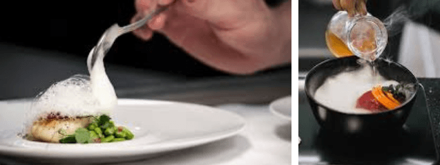 platos de cocina molecular