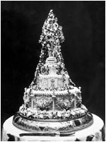 Tarta de boda rey Alfonso XIII