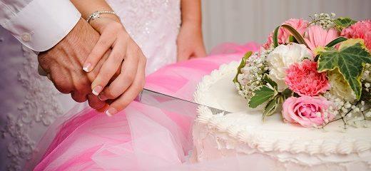 tarta nupcial novios boda