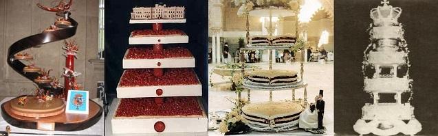 tartas nupciales bodas reales