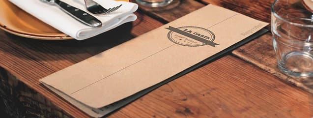 carta para restaurante