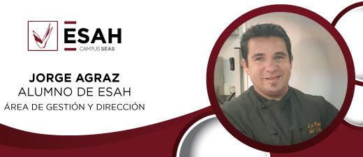 Jorge Agraz alumno del máster de gestión y dirección de restaurantes