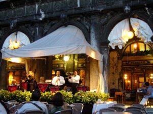Música en vivo en restaurante