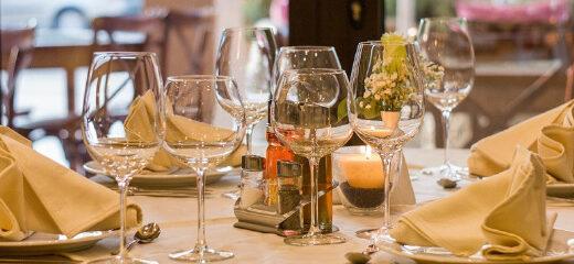 Tipos de copa para servir vino
