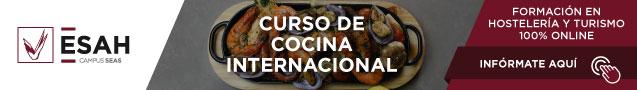 curso online cocina internacional ESAH
