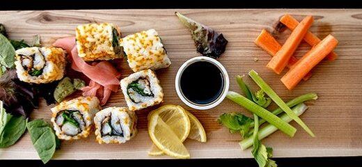 Características de la comida japonesa