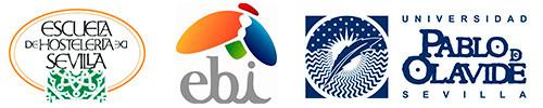 Logos ESHS, EBI y Olavide