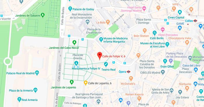 Mapa EHM Madrid